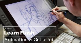 how to get a job as a flash animator