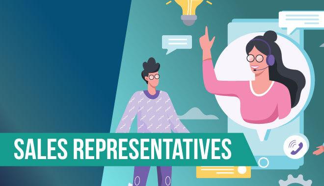 Video Game Job - Sales Representatives