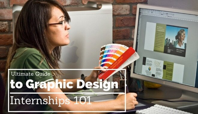 graphic designer internships guide