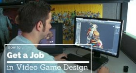 kinds of jobs in video game design