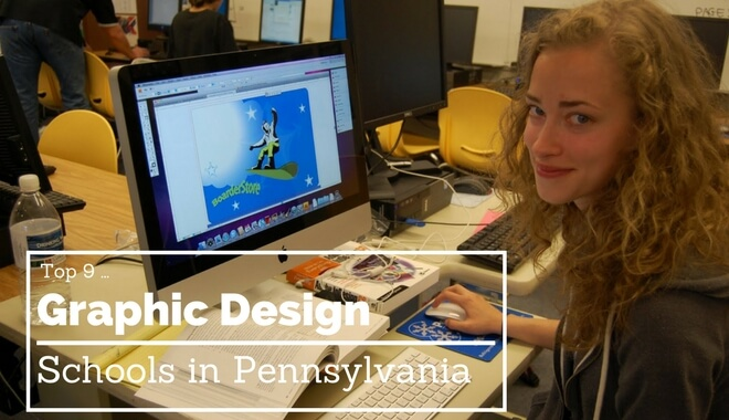 best pennsylvania graphic design colleges