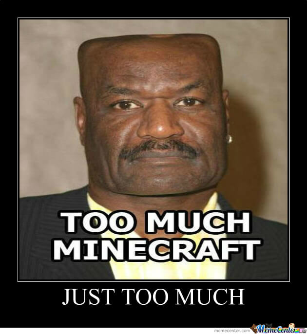 Image result for funny minecraft memes
