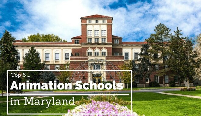 animation schools in maryland