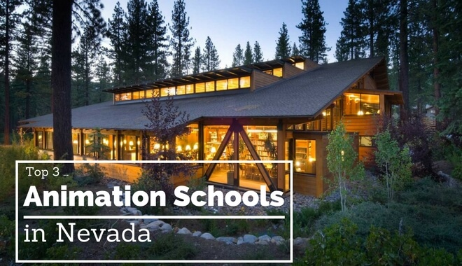 best nevada animation colleges