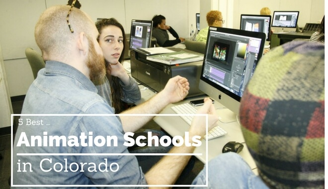 top colorado animation colleges