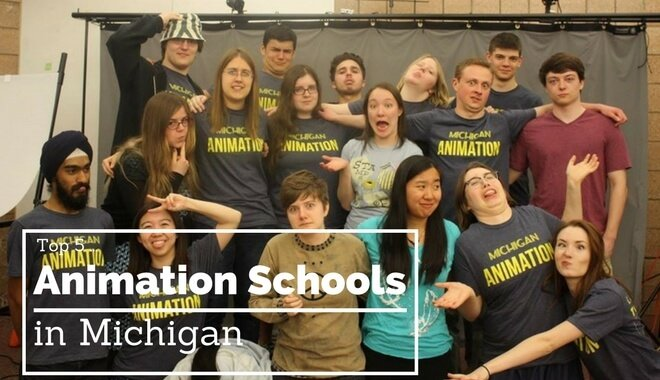 top michigan animation colleges