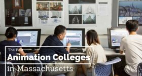 massachusetts top animation colleges