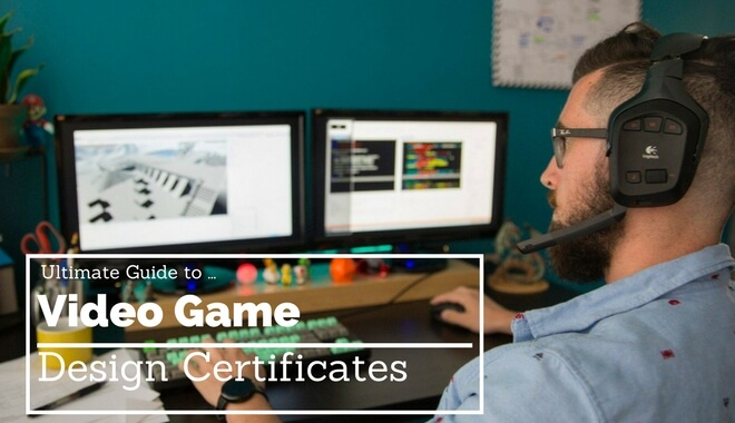 guide to video game design certificate