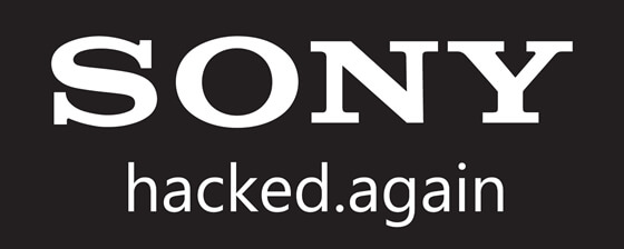 sony hacked again