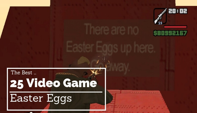gaming easter eggs