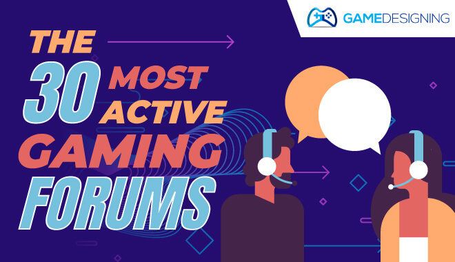 The 30 most active video game forums