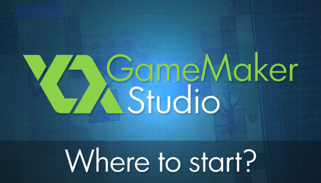 game maker studio where to start