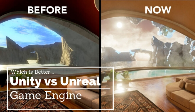 unity vs unreal game engine