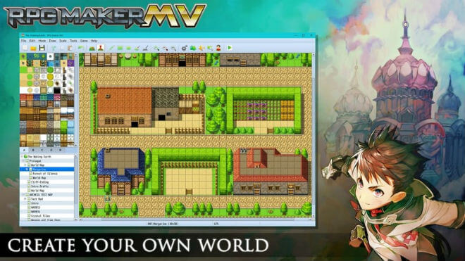 RPG Maker MV Game Engine (Learn How to Make Your Own RPG)