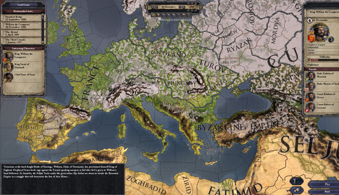 Crusader Kings 2 DLC content