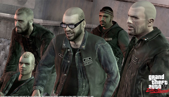 Grand Theft Auto IV The Lost and the Damned DLC