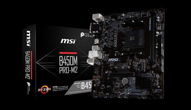 MSI ProSeries B450M Pro-M2