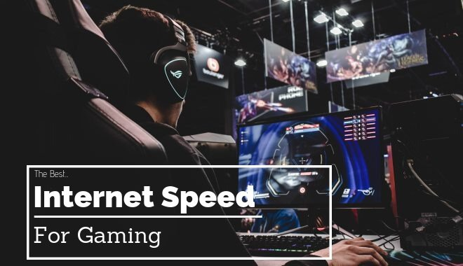 What Is The Best Internet Speed For Gaming Ping Mbps