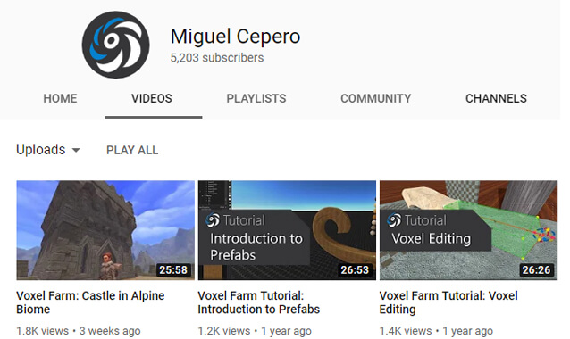 Miguel Cepero Youtube Channel