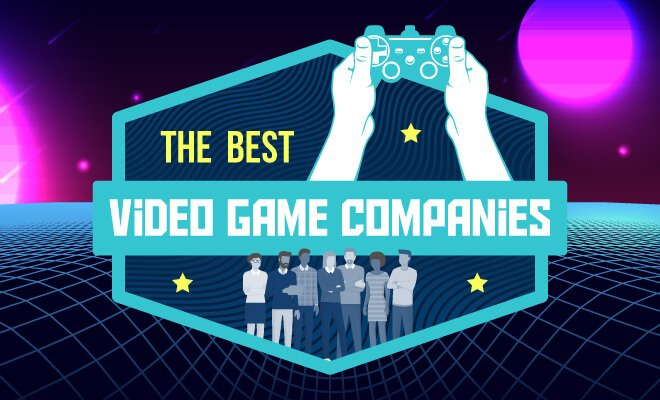 How These 4 Major Companies Are >> The 50 Top Video Game Design Companies In The World