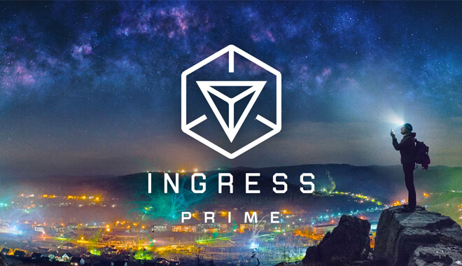 Ingress Augmented Reality Game