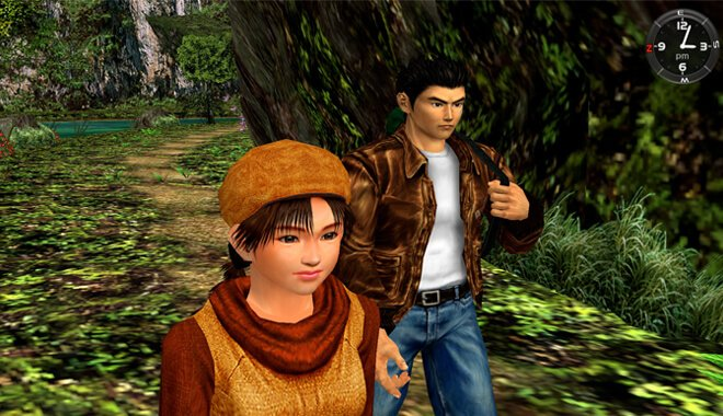 Shenmue 2 Gameplay - Great Open World Map