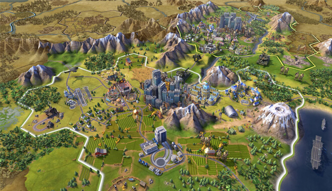 Artificial Intelligence on Civilization Game