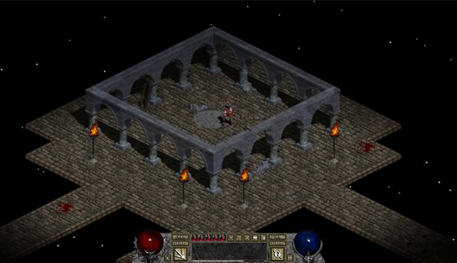 Diablo RPG game