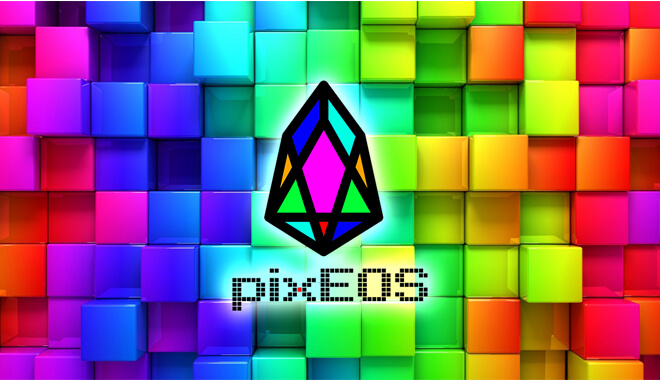 PixEOS blockchain Game