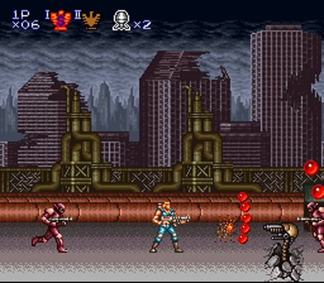 Contra Game Series