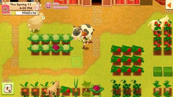 Farming In-game