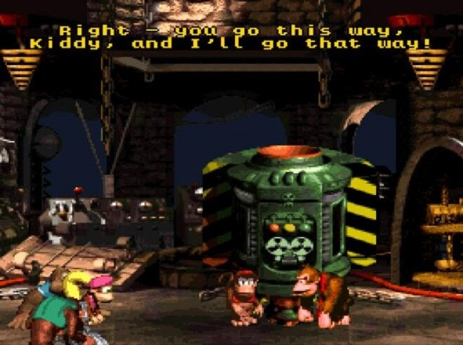 Donkey Kong Country game series