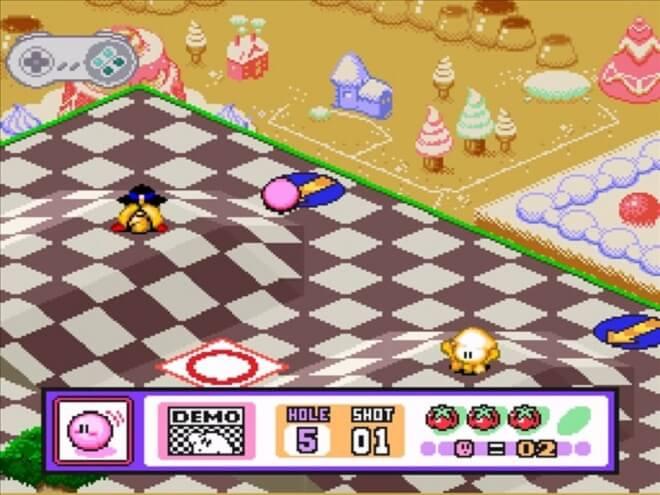 Kirby Mini-Golf