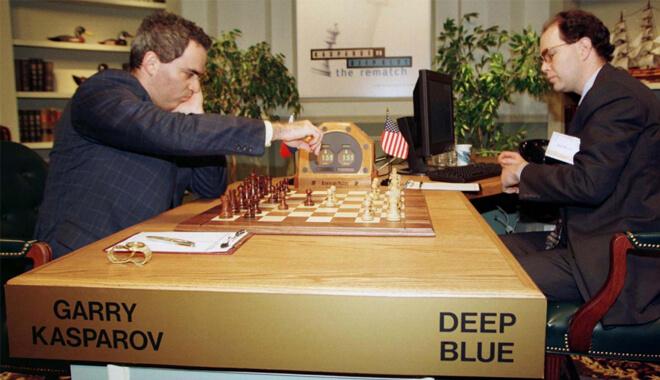Garry Kasparov vs Deep Blue Artificial Intelligence