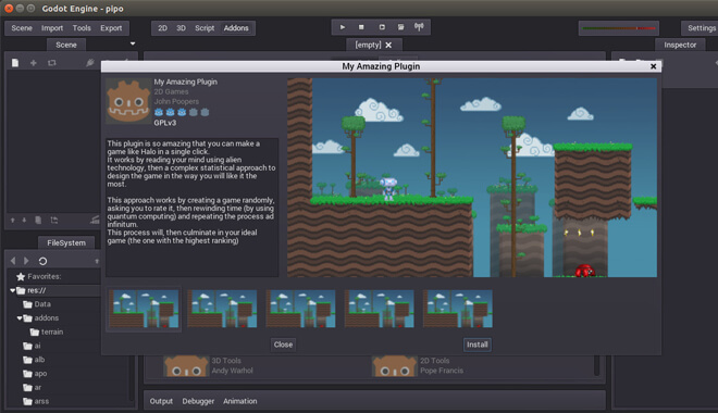 Godot Engine Store
