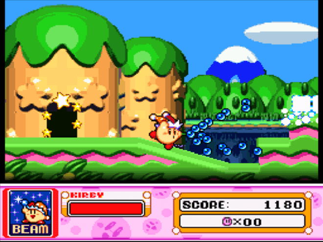 Kirby's Games