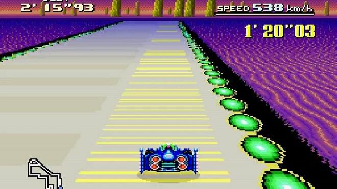 F-Zero racing game