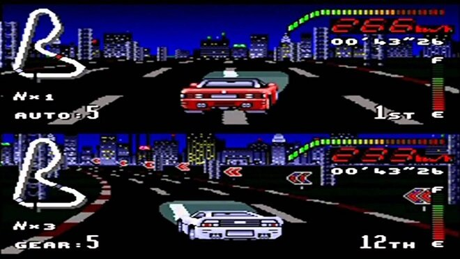 SNES Great Racing Game