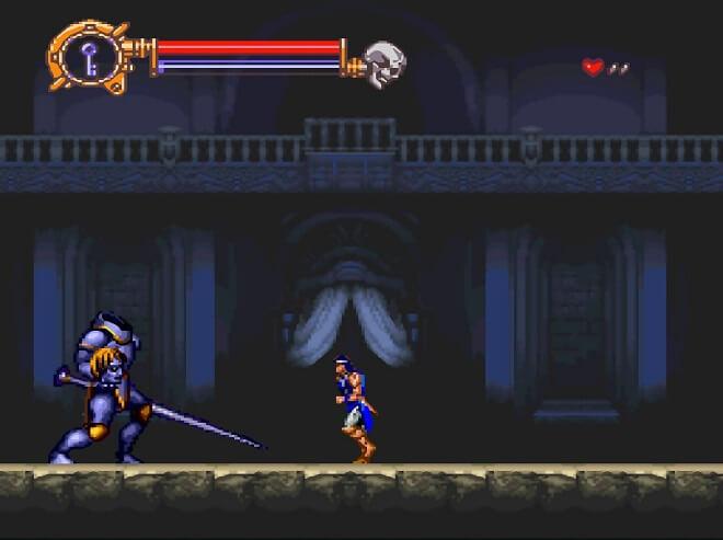 Richter Belmont vs Dracula