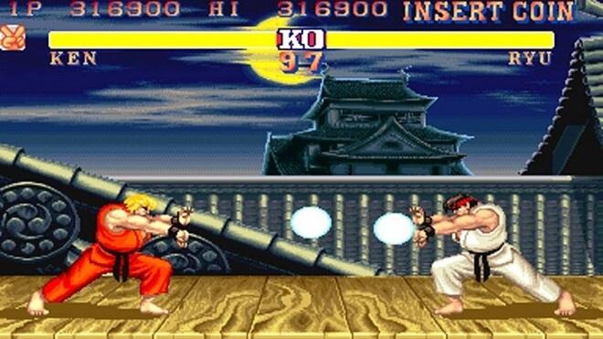 Street Fighter fight scenes