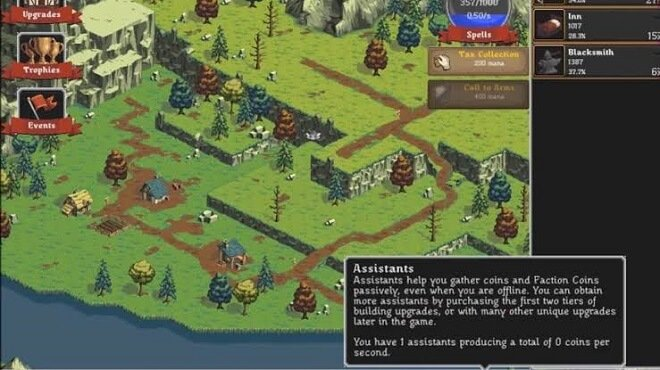 role playing game idle game