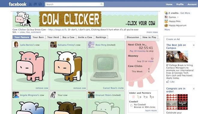 facebook clicker game