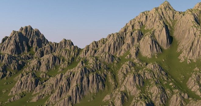 mountain terrain
