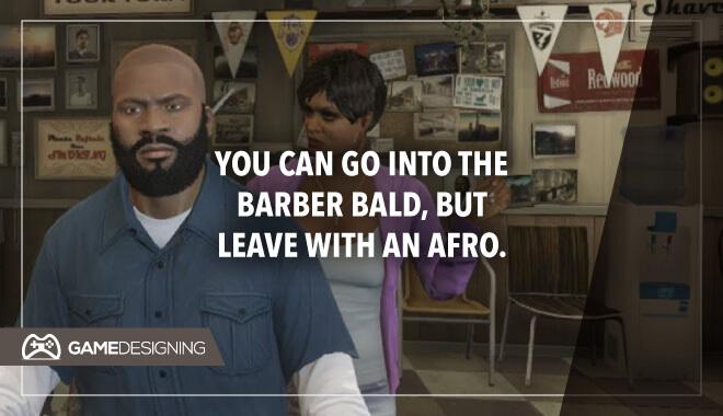 GTA Afro hair
