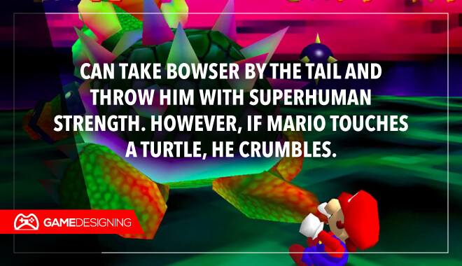 Mario Brothers game logic