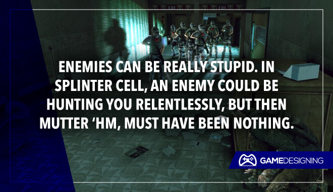 Splinter Cell funny game logic