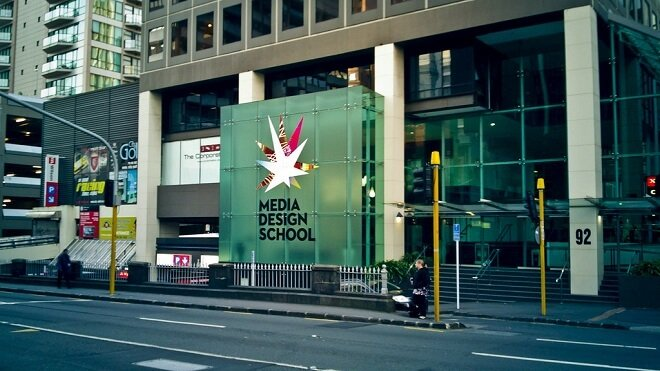 Media Design School - New Zealand