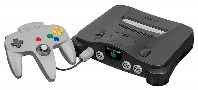 Nintendo 64 in 1996