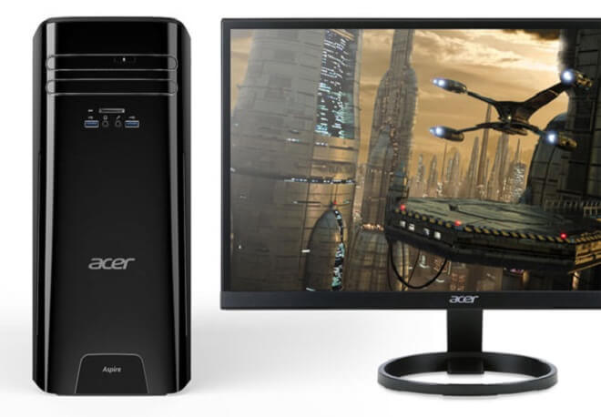 Cheapest Gaming PC - Acer Gaming Desktop Aspire TC-780-UR1E