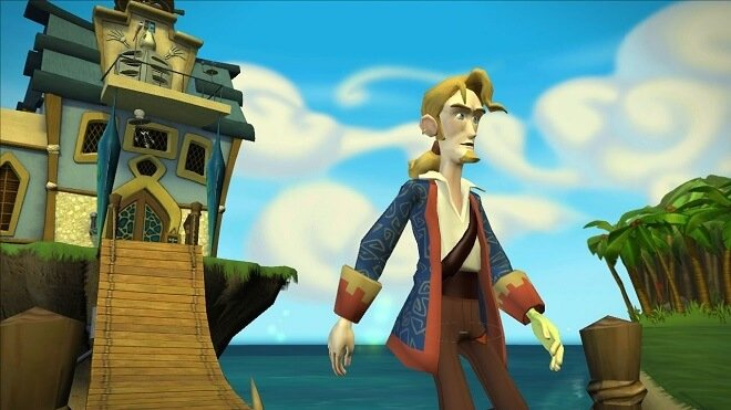 Tales of Monkey Island video game series